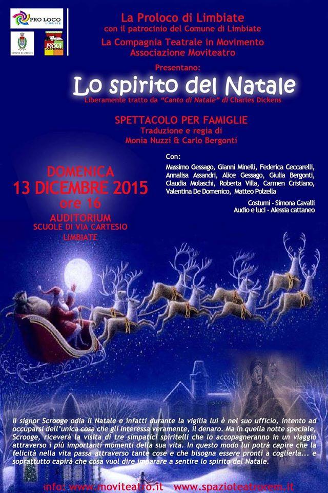 Locandina Spirito Natale Limbiate 2015