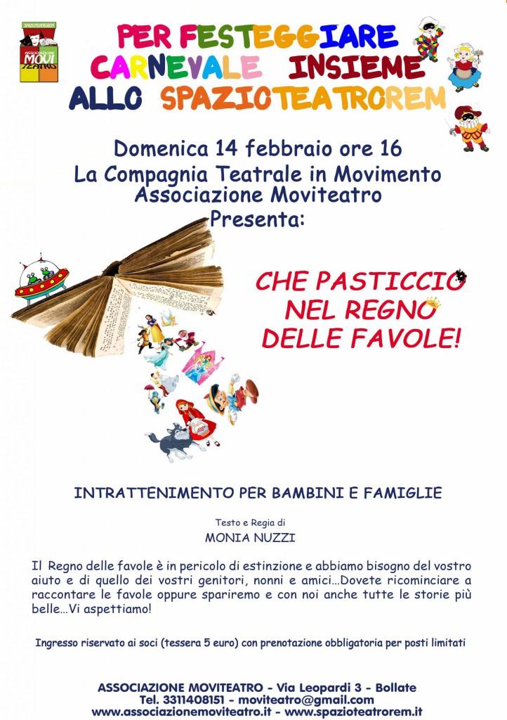 Che Pasticcio - Spazio Teatro Rem - Locandina A5